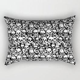 Skull Wall Rectangular Pillow