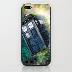 Dr. Who Tardis iPhone & iPod Skin