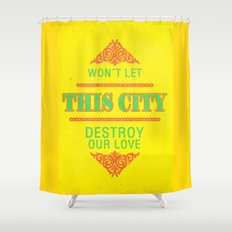 The City ; Patrick Wolf Shower Curtain