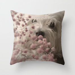 SWEET DOG Throw Pillow