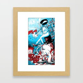 A Night in the Dreams of a Young Demento's Earthly Delights Framed Art Print
