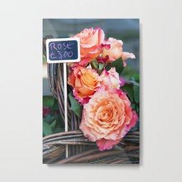 Flora et Decora Metal Print