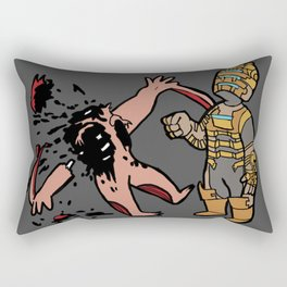Bloody Mess Rectangular Pillow