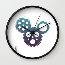 mickey mouse mechanisms Wall Clock