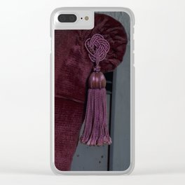 The chair everyone needs Clear iPhone Case