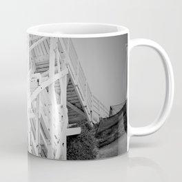 Beach Stairs on the Cliff Coffee Mug