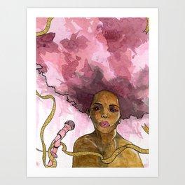 Macy Gray's Greatest Hits Art Print