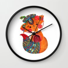 The Prince of Fox Wall Clock
