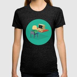 Nerd playing Pong T-shirt