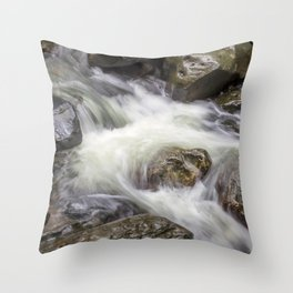 The Flow of Water Throw Pillow