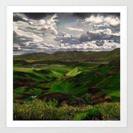 Forge Ahead- Green Mountain Art Print
