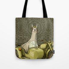 Sidecar Llama Tote Bag