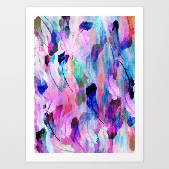 Freedom Feather Art Print