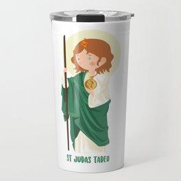 St Judas Tadeo Travel Mug