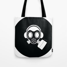 Post World Zuno : Gas Mask 04 Tote Bag