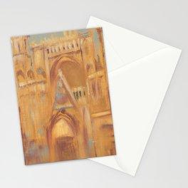 Notre-Dame de Paris Painting Stationery Cards
