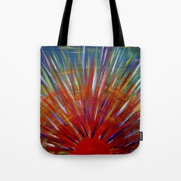Rainbow Sun Tote Bag