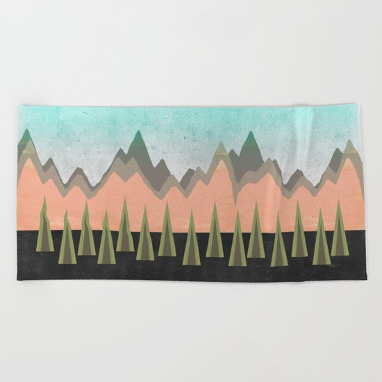 Sacred Beach Towel