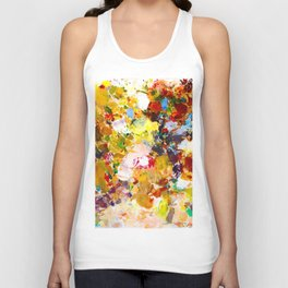 Autumn Sun Unisex Tank Top