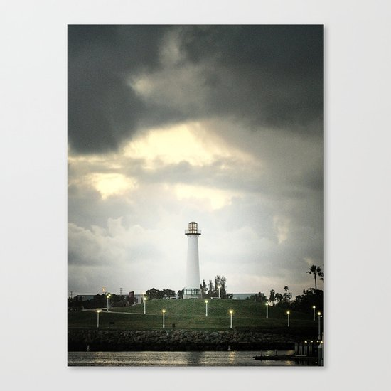 Lions Lighthouse ~ Stand By Canvas Print