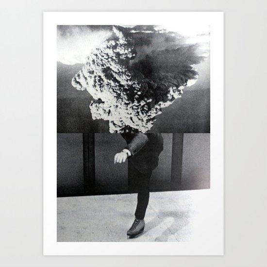 A Series of Vibrations Art Print