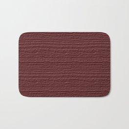 Apple Butter Wood Grain Color Accent Bath Mat