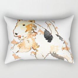 Fox Terrier Rectangular Pillow