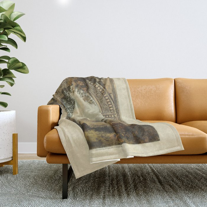 Ruins Of Rome Throw Blanket