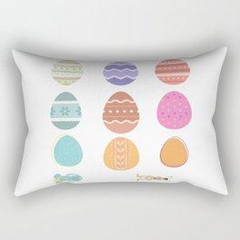 Easter Sticker Pack Rectangular Pillow
