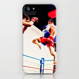 Fight : Jump iPhone Case