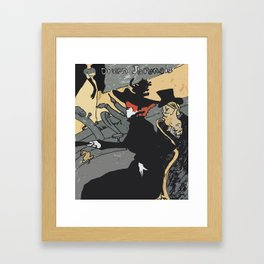 After Lautrec - Divan Japonais Framed Art Print