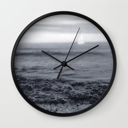 Beach Blues Wall Clock