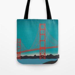 Golden Gate Bridge, San Francisco, California Landscape Tote Bag