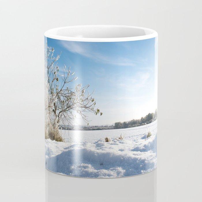 Snowy Field Coffee Mug
