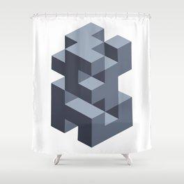 'Geometric Design' Shower Curtain