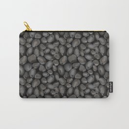 Dark glossy pebbles Carry-All Pouch
