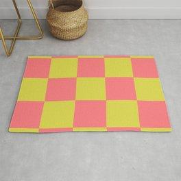 Trendy Genuine Chessboard Lycanthrope Rug