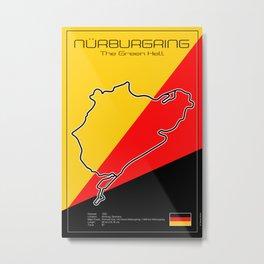 Nurburgring Nordschleife Metal Print