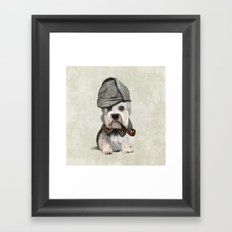 Sir Dandie Dinmont Terrier Framed Art Print