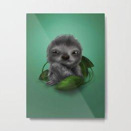 Sammy Sloth Metal Print