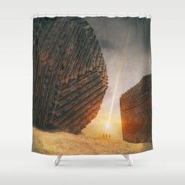 MTX-FRIENDS M916 Shower Curtain