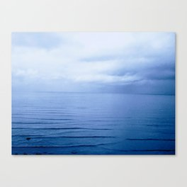 Fireside Blue Canvas Print