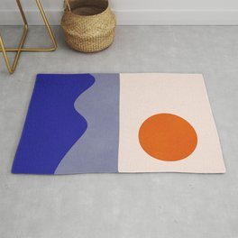 abstract minimal 50 Rug