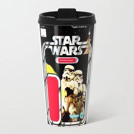Stormtrooper Vintage Action Figure Card Travel Mug