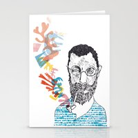 matisse Stationery Cards featuring Matisse by Le Hello