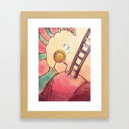 Tourbillon Framed Art Print
