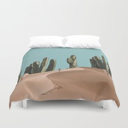 Is There Life on Earth I Duvet Cover