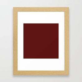 Jam - Solid Color Collection Framed Art Print