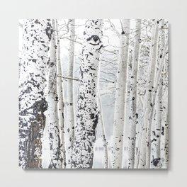 White Tree 2 Metal Print