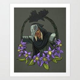 The Antivan Nightshade Art Print